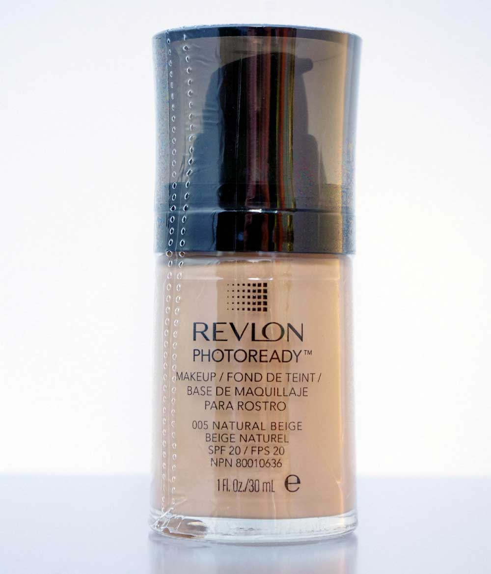 revlon photoready make up im pumpspender farbe natural beige 005 ebay. Black Bedroom Furniture Sets. Home Design Ideas